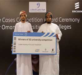 Congratulations to DU Winning Omantel 5G Competition